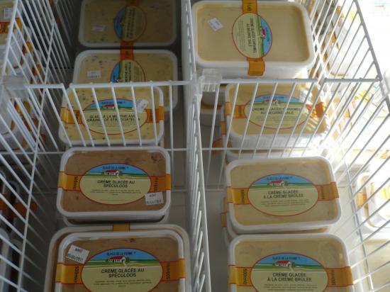 Nos bacs de crèmes glacées